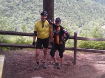 Ted and Fran at the Vista.